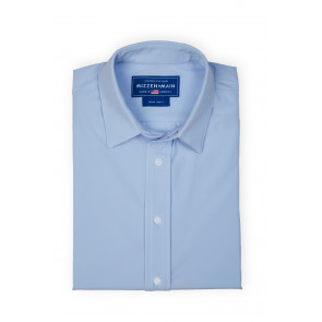 "Nelson ""Blue Label"" Shirt - Light Blue Solid - Standard Fit (BL-L-1002)"