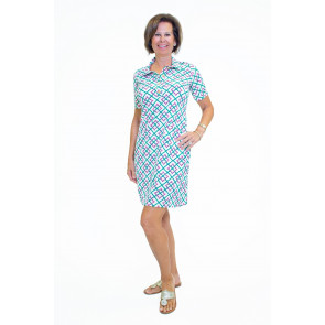 Austin Dress Bamboo Fence Pink (AUS )