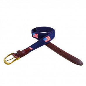 American Flag Ribbon Belt (3015)
