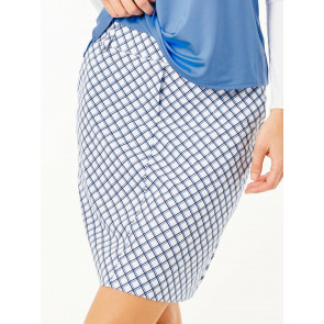 Tailored Skort - Laguna Grid (BSK0017)