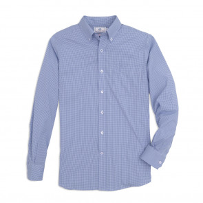 Intercoastal Gingham Sport Shirt (6836)