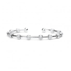 Golf Goddess Original Stroke Counter Bracelet - Silver