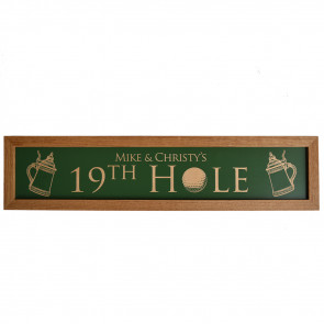 19th Hole Sign
