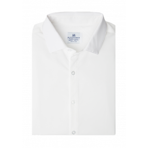Manhattan Solid White - Standard Fit (MM-6400)