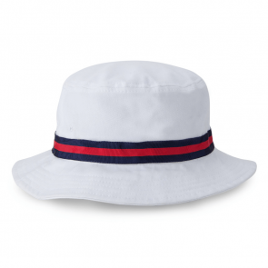 White Oxford Bucket Hat (1371)