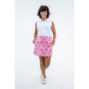 Delray Skort Chinese Paper Pink (DEL)