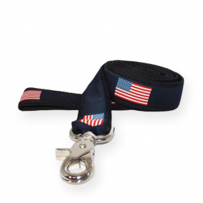 American Flag Dog Leash (DL)